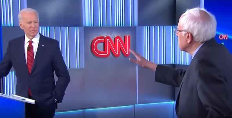 Winners and losers from the Sanders-Biden debate
