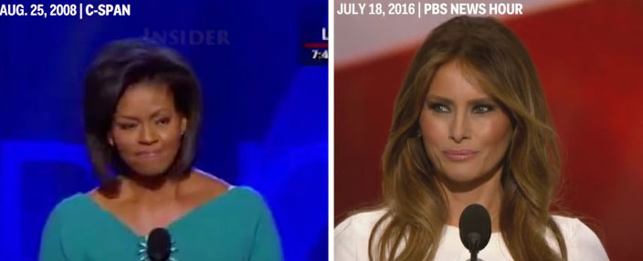 Melania and the Media, really?
