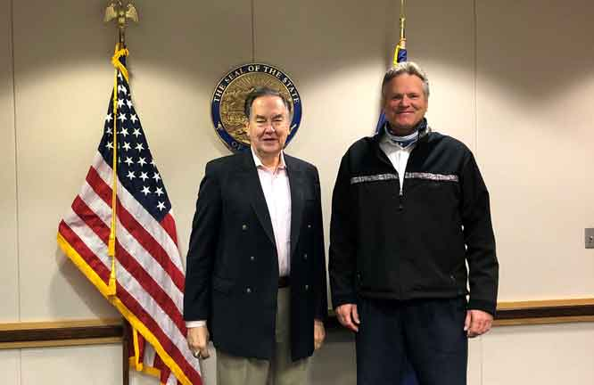 Alaska's governor on the virus and the election