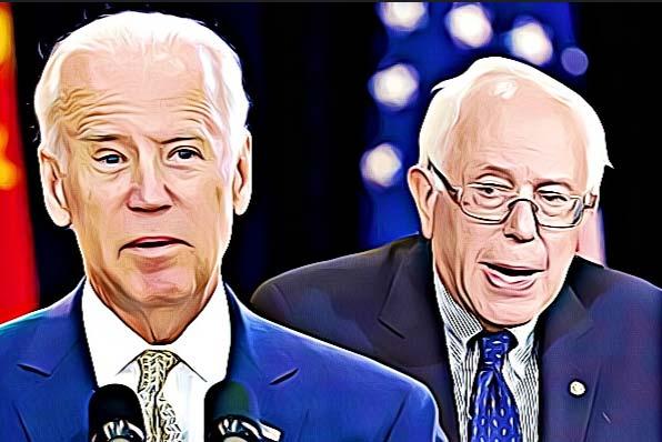 Bernie bashing Biden battle begins