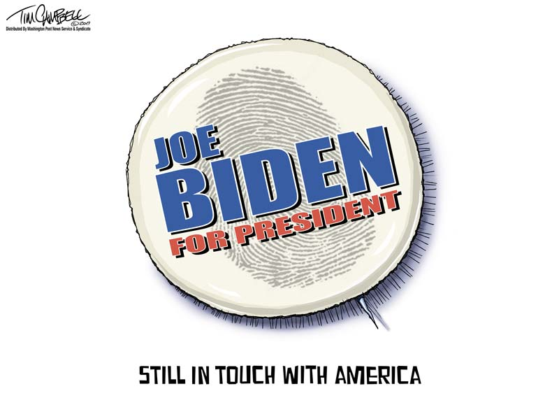 Is the irony of Biden's apologies being missed?