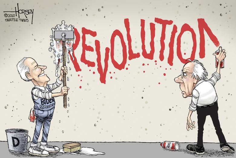 Biden doesn't have to let Sanders pull him leftward