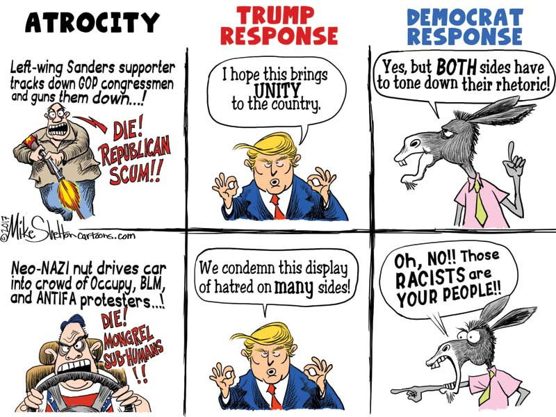 Trump Haters and Their Double Standards