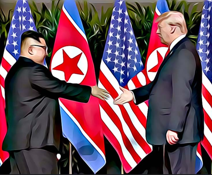The Trump-Kim flattery of convenience