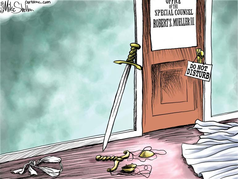 The Mueller trap for . . .  Dems