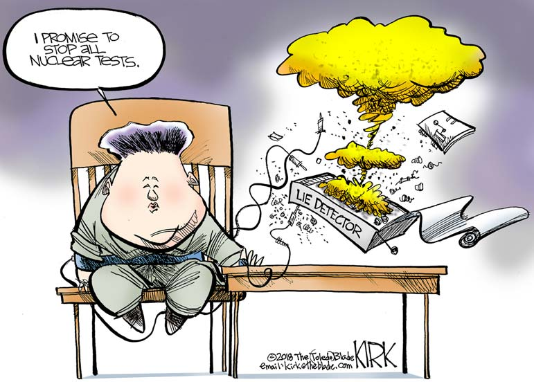 Don't be duped on North Korea