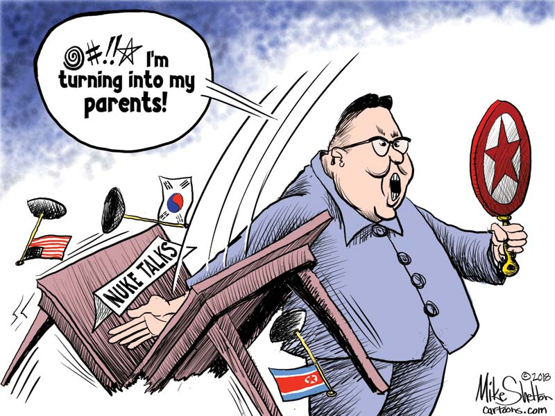 The only diplomatic way forward with North Korea