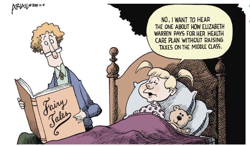 How Crazy Is Warren's Health Care Plan?