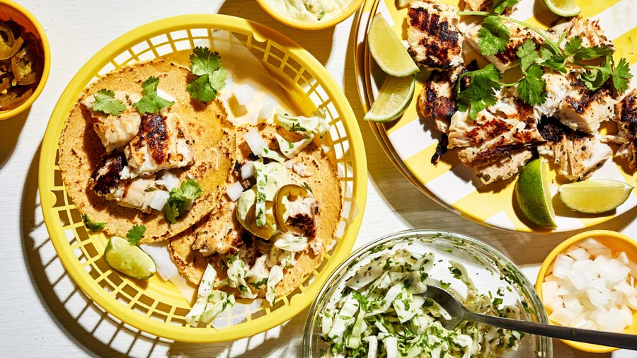 Fish tacos and homemade tortillas packed with flavor and perfect on a summer day spent out on for The best fish taco recipe in the world