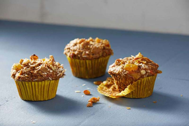 This easy made cinnamon-scented, moist, tender crumb muffin boasts the scrumptiousness of cake rather than a baked good that screams 'healthy' --- which it is