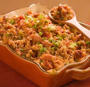 Jammin' with jambalaya: Lean meat and brown rice make Cajun-Creole ...