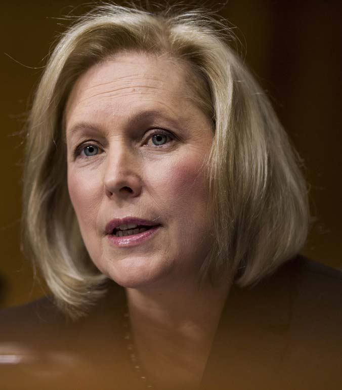 Kirsten Gillibrand's sexual misconduct hypocrisy