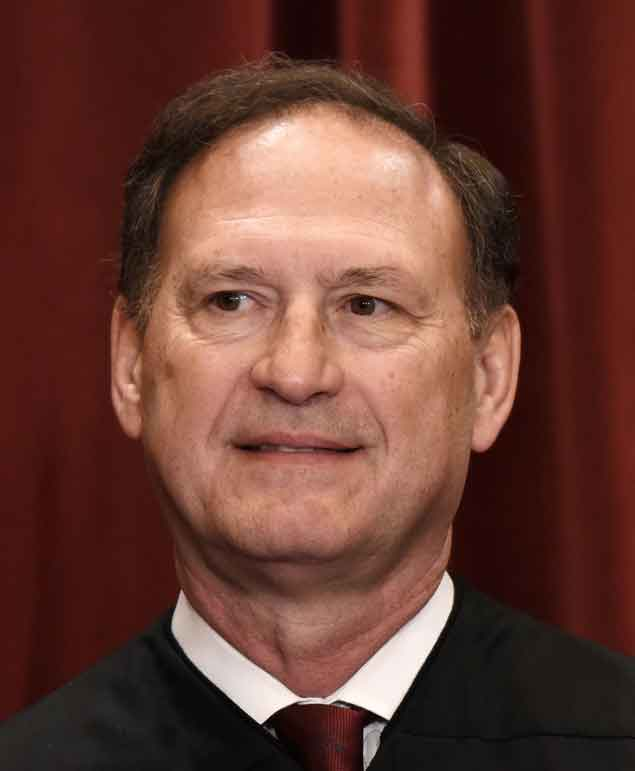 Justice Alito and warning signs