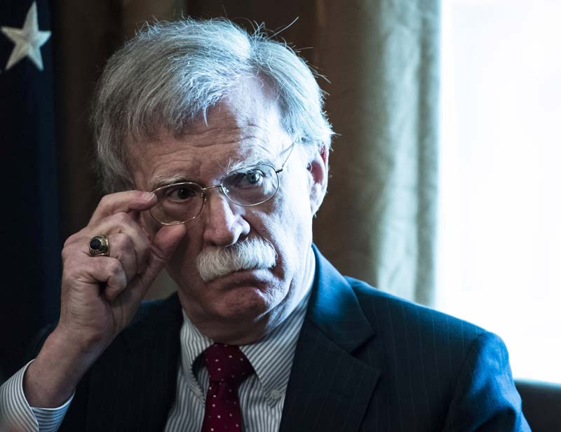 John Bolton is exactly what Trump's Iran policy needs