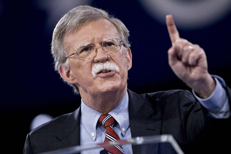 Bolton promises to confront a 'Troika of Tyranny' in Latin America