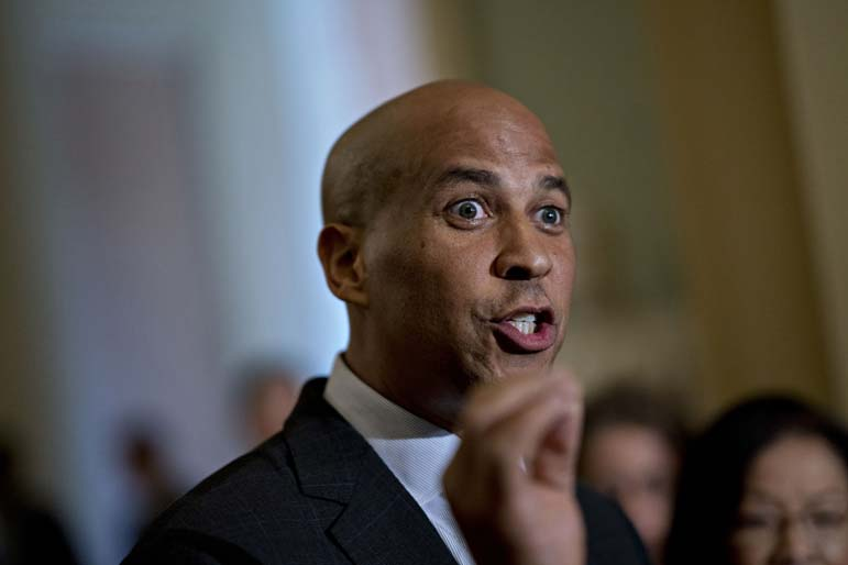 Booker expresses caution about breaking up big companies like Facebook
