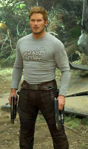 Chris Pratt lives up to his given name
