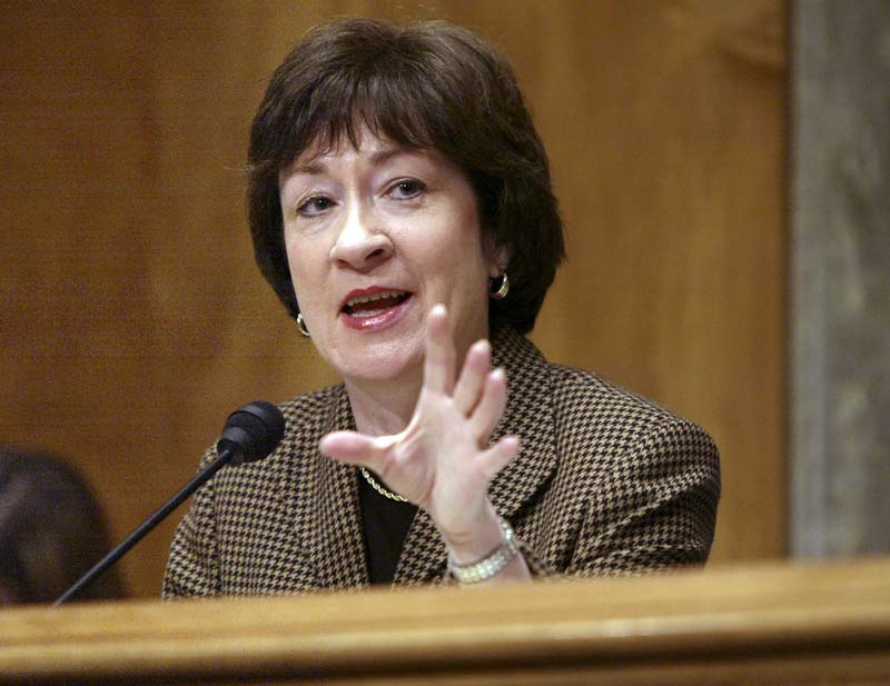 Susan Collins' finest hour