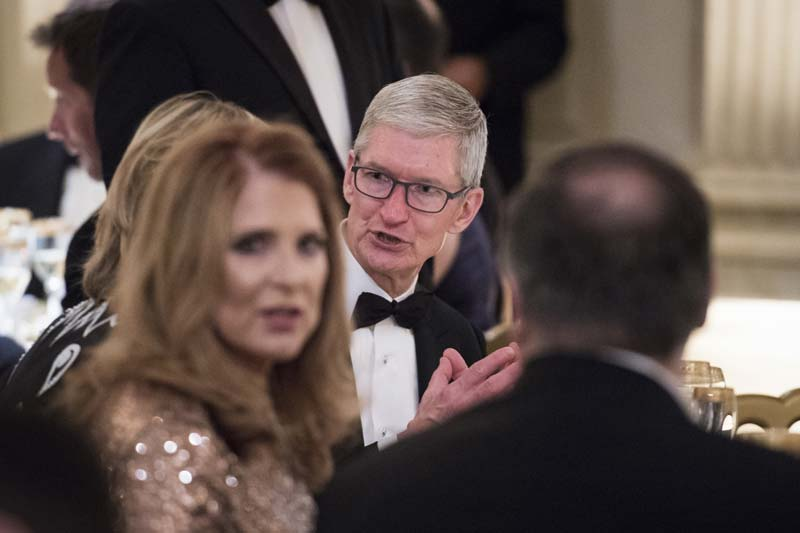 Apple's Tim Cook's has learned that it pay$ to be a 'Trump whisperer'