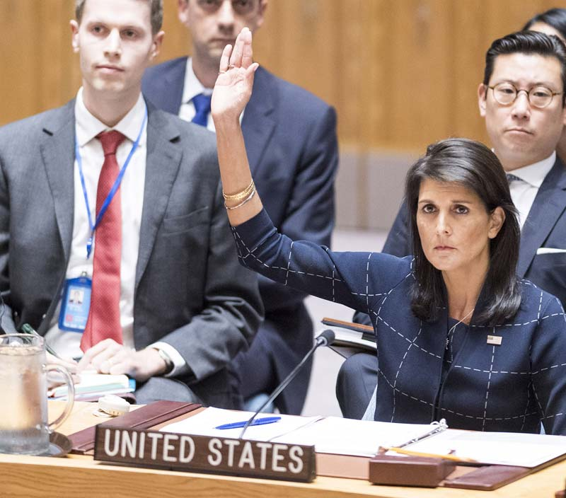 Nikki Haley isn't so sure about the UN