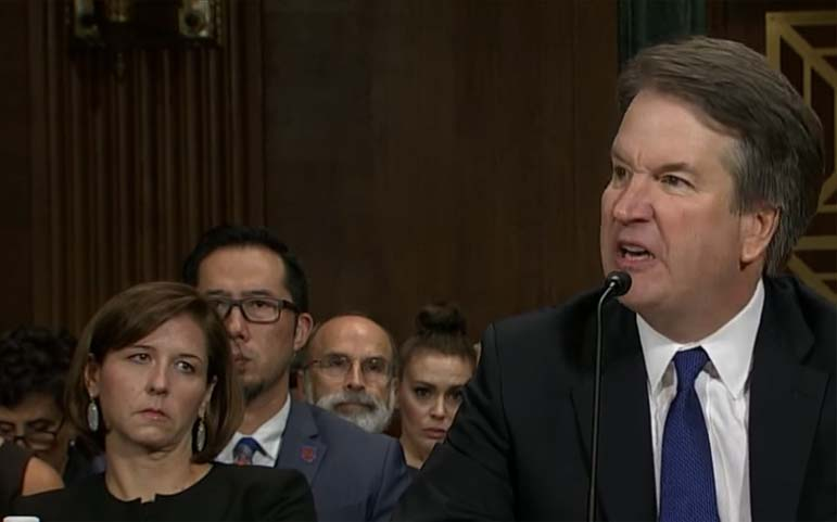Could Kavanaugh's anger be righteous indignation?