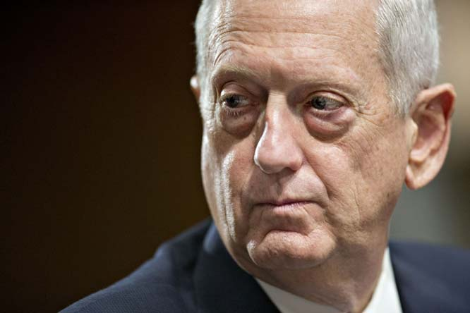 The White House is discussing potential replacements for Mattis