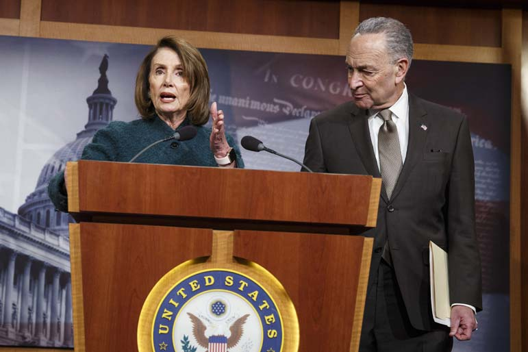 Pelosi and Schumer Show Their Colors