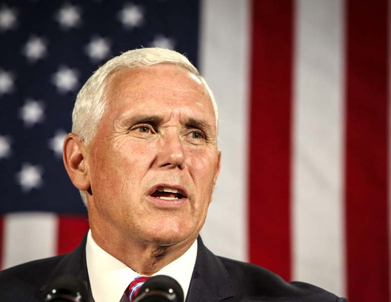Beijing 'wants a different American president' and is working to undermine Trump, Pence says