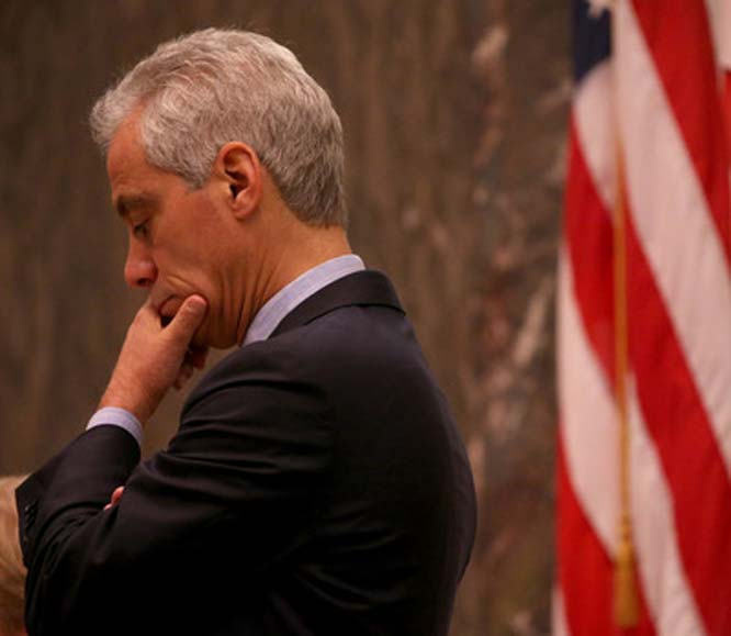 Rahm-bo drops out, and it's Lord of the Flies, again