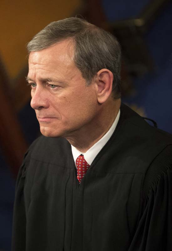 Chief Justice Roberts laments having to do Congress' job