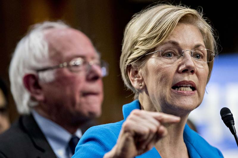 Are Elizabeth Warren and Bernie Sanders headed for a collision?