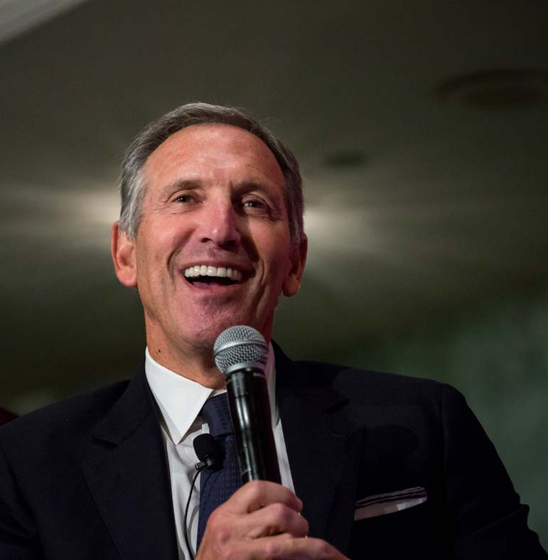 In a speech outlining his vision, Schultz reveals a truly odd understanding of American politics