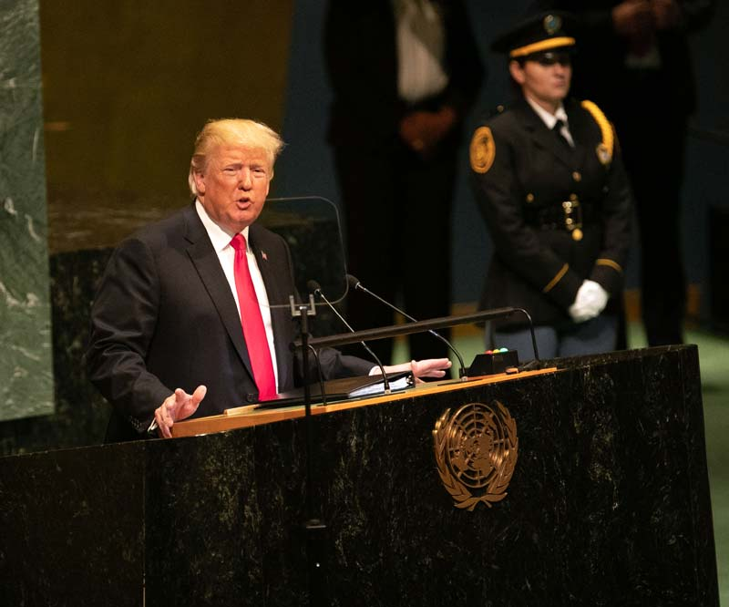 Trump's UN speech almost adds up to a doctrine