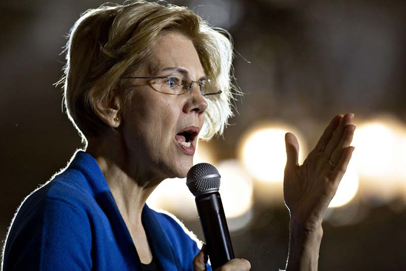 Warren's Challenge Now That She's Ahead In Iowa: Staying Off The Dean's List