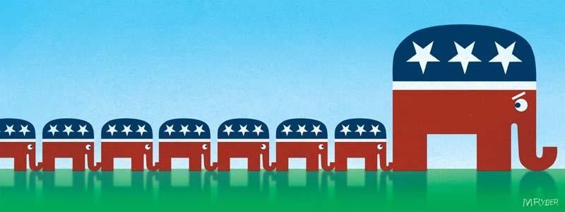 Vote to increase Republican majorities