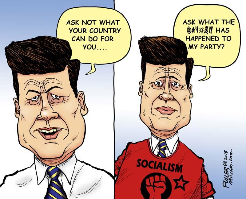 FDR vs. JFK vs. JRB