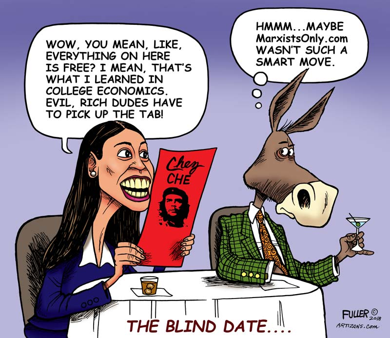 AOC Got a Pass on the Cost of 'Free'