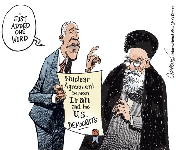 Reaching a deal with Dems on Iran?
