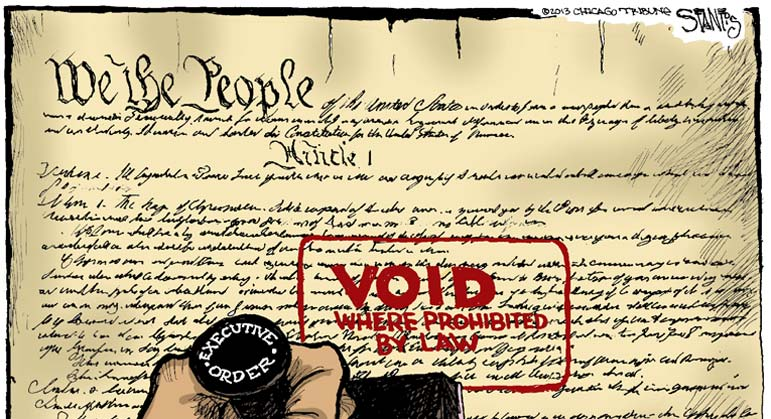 The Dem Party Is Radicalizing against the Constitution