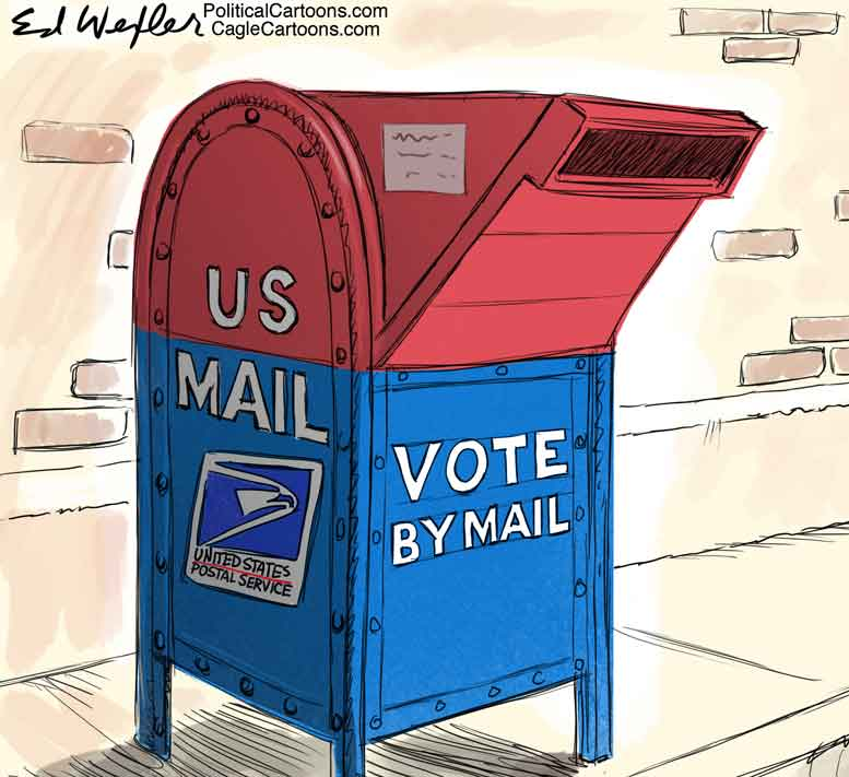 Trump is right about mail-in ballots